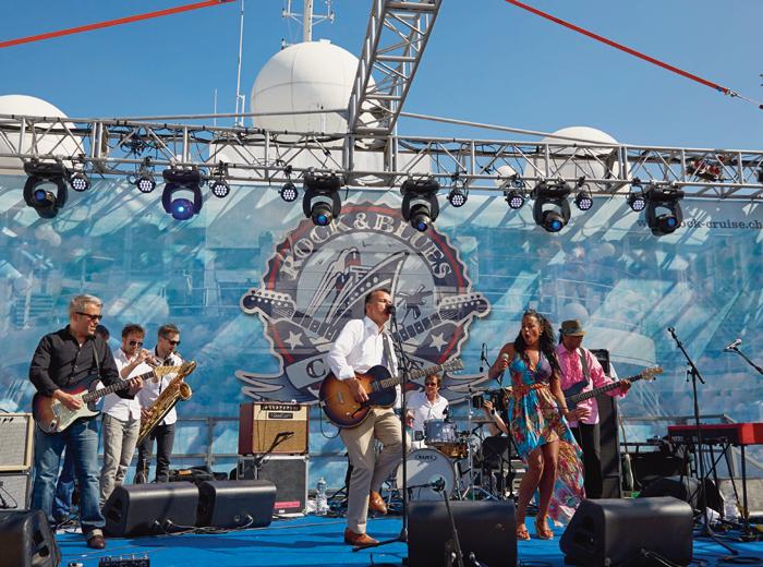 Kreuzfahrten – Bob Geldof auf der Rock & Blues Cruise