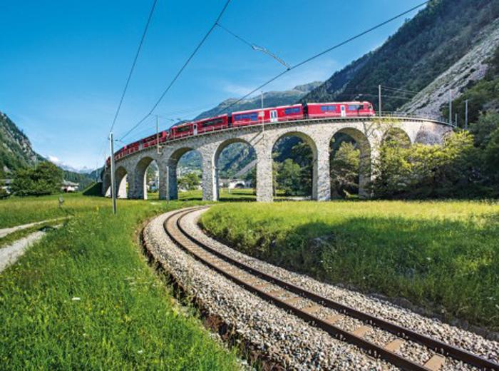 Bernina Express –Hochfahren, um runterzukommen