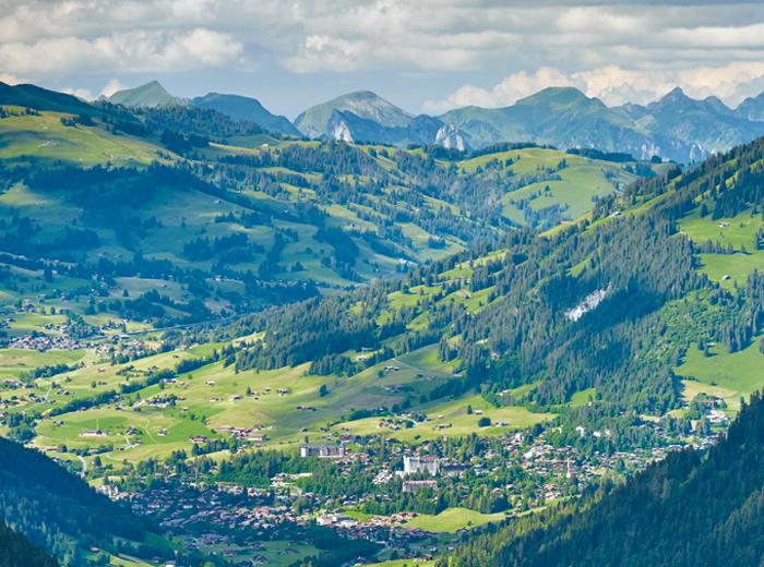 Gstaad –Luxus auf dem Land